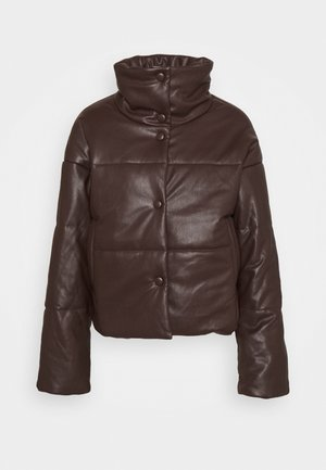 PADDED JACKET - Giacca invernale - brown