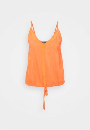 LARA PLAIN - Top - sun orange
