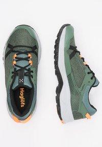 Haglöfs - TRAIL FUSE  - Hiking shoes - dk agave green/true black - 2