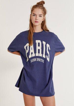 PARIS - Print T-shirt - dark blue