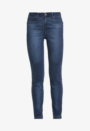 SCARLETT HIGH SIDEPANEL - Jeans Skinny Fit - dark night damage