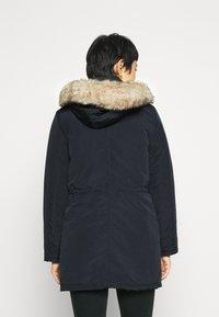Dorothy Perkins - TRIM COAT - Zimní kabát - navy - 2