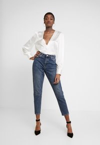 Nly by Nelly - EYE CATCHER BLOUSE - Blus - creme - 1