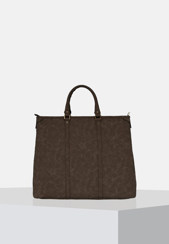 Shopper - antique brown