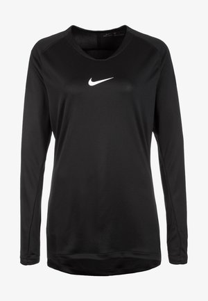 DRY PARK FIRST - Long sleeved top - black/white