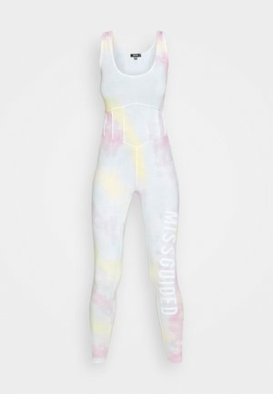 BRANDED TIE DYE UNITARD - Jumpsuit - multi coloured