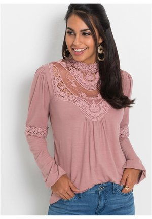 Maglietta a manica lunga - rosa