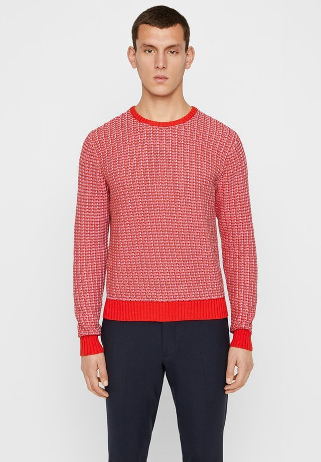CHESTER KNITTED - Pullover - racing red