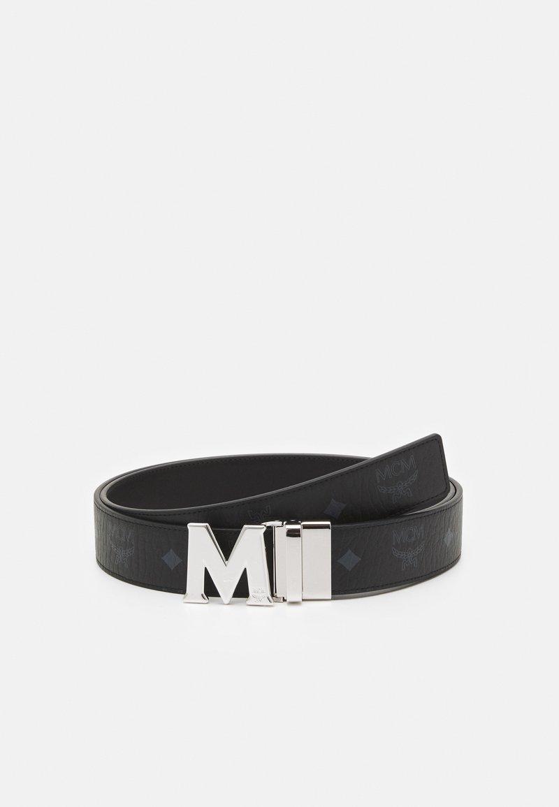 MCM - CLAUS REVERSIBLE BELT UNISEX - Belt - black