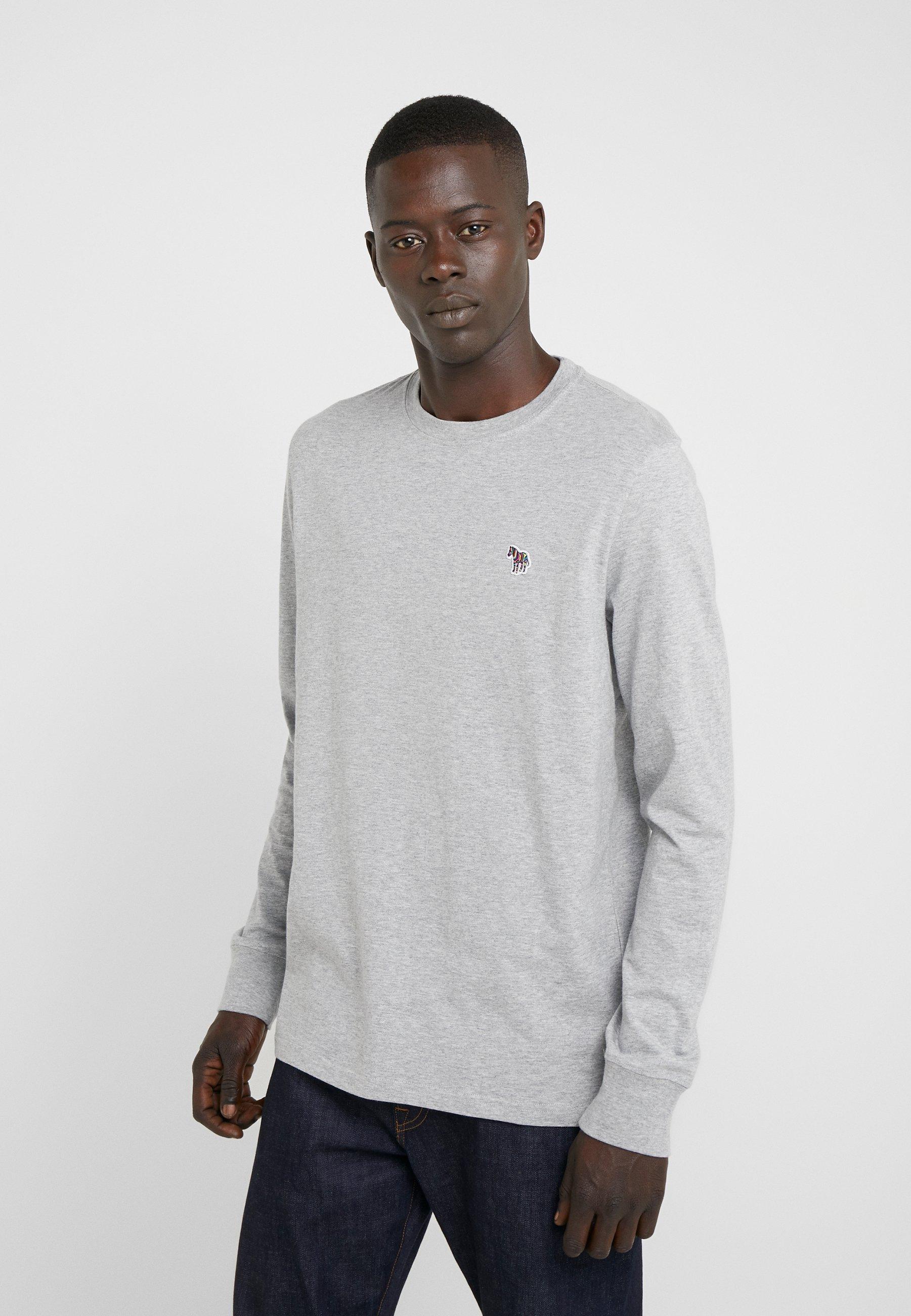 Men ZEBRA - Long sleeved top