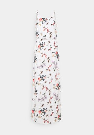 ONLNOVA LIFE DRESS - Maxi dress - cloud dancer/summer peony