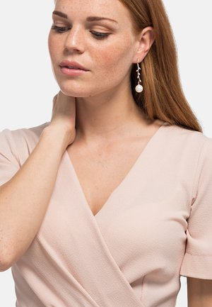 KATE - Earrings - rose goldfarbend