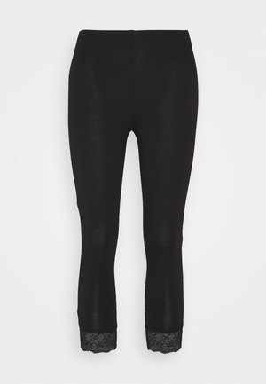 VIOFFICIAL CROPPED - Leggings - black