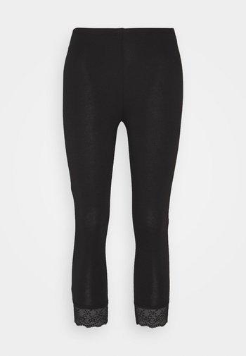 VIOFFICIAL CROPPED - Leggings - Trousers - black