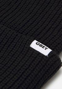 Obey Clothing - BOLD BEANIE UNISEX - Berretto - black - 2