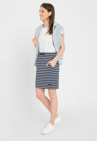 Sea Ranch - Pencil skirt - navy pearl breton - 3