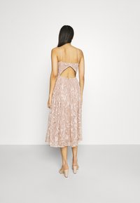 Lace & Beads - ADELAIDE MIDI - Cocktail dress / Party dress - taupe - 2