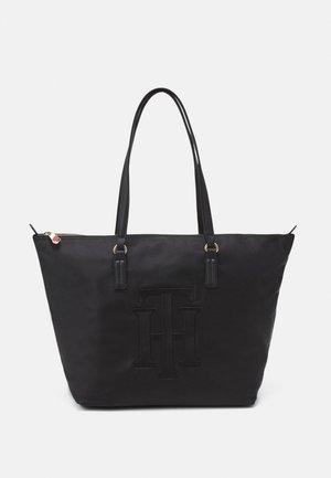 POPPY TOTE - Tote bag - black
