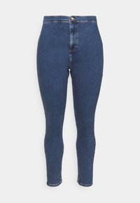 Even&Odd Curvy - JEGGING - Jeans Skinny Fit - blue denim - 2