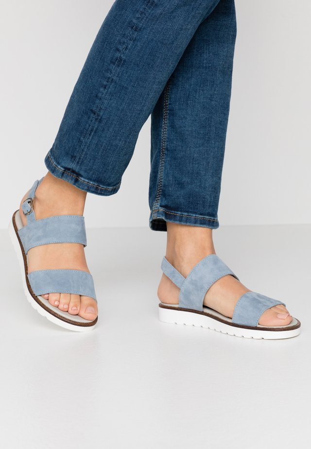 VIVIAN - Sandaalit nilkkaremmillä - light blue