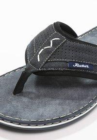 Rieker - T-bar sandals - ozean - 5
