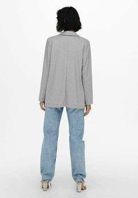 ONLY - KLASSISCH - Short coat - light grey melange - 2