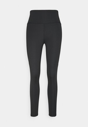 SIDE PANEL LEGGING - Tights - black