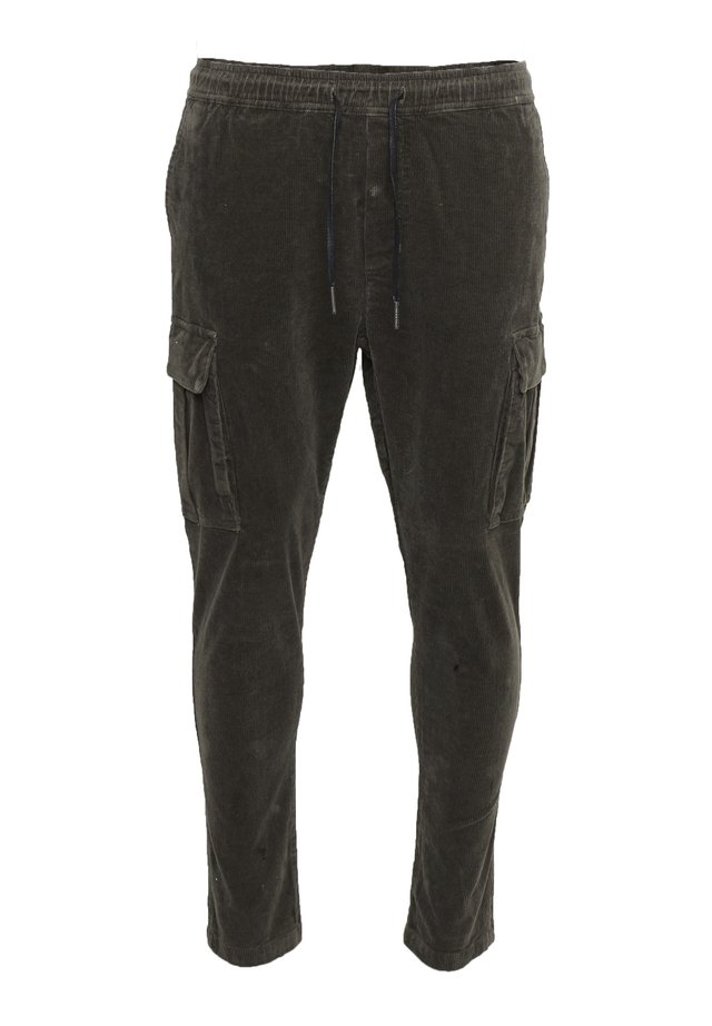Cargo trousers - dusty oliv