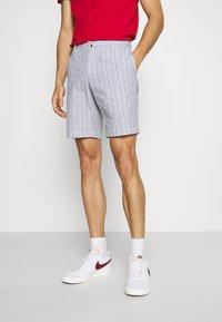 Ben Sherman - SEERSUCKER - Shorts - indigo - 0