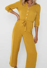 ONLY - 3/4-ÄRMEL - Jumpsuit - chai tea - 2
