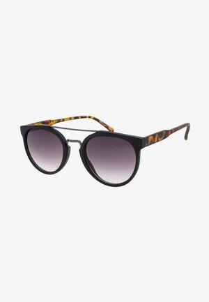 SOO-HIE - Sunglasses - matt black/matt tortoise