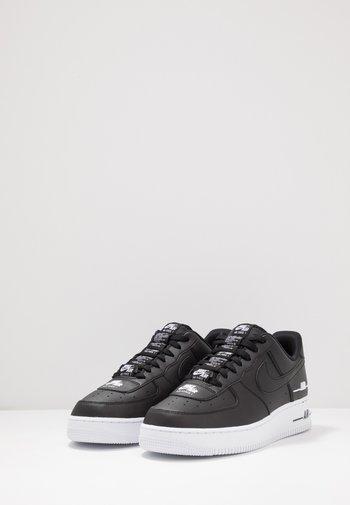 Nike Sportswear Air Force 1 07 Lv8 Trainers Black White Black Zalando De