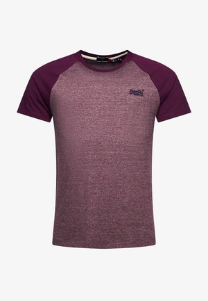 ORANGE LABEL BASEBALL - Print T-shirt - deep port mega grit