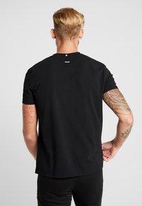 Fila - ROBIN - Print T-shirt - black - 2