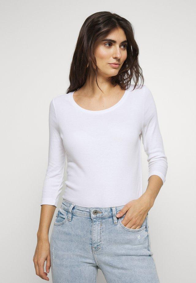KURZARM - Long sleeved top - white