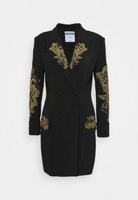 MOSCHINO - DRESS - Vestido ligero - fantasy black - 0
