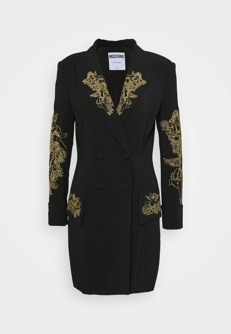 MOSCHINO - DRESS - Vestido ligero - fantasy black