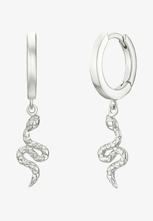 SNAKE - Earrings - silber