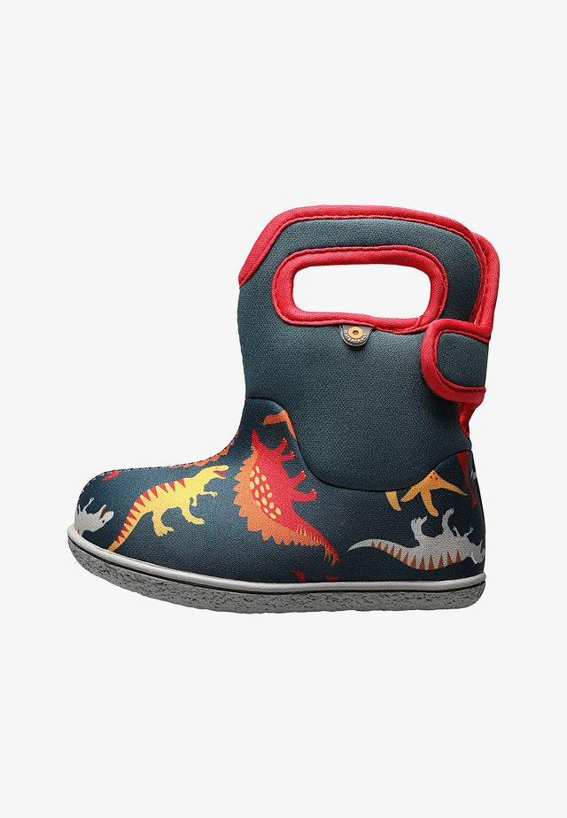 DINO  - Baby shoes - indigo multi