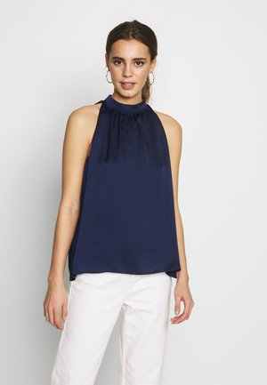 Blouse - navy blue