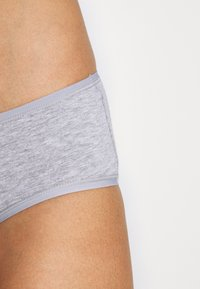Anna Field - 7 PACK - Briefs - grey/black - 6