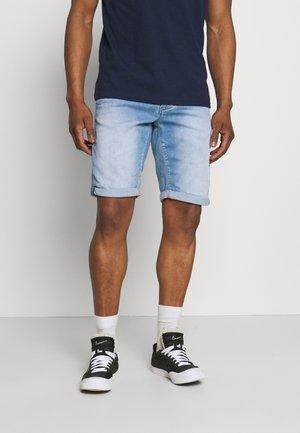 JASON SANZA - Shorts di jeans - light-blue denim