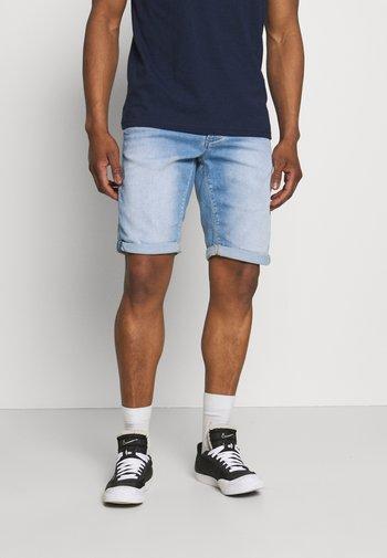 JASON SANZA - Denim shorts - light-blue denim