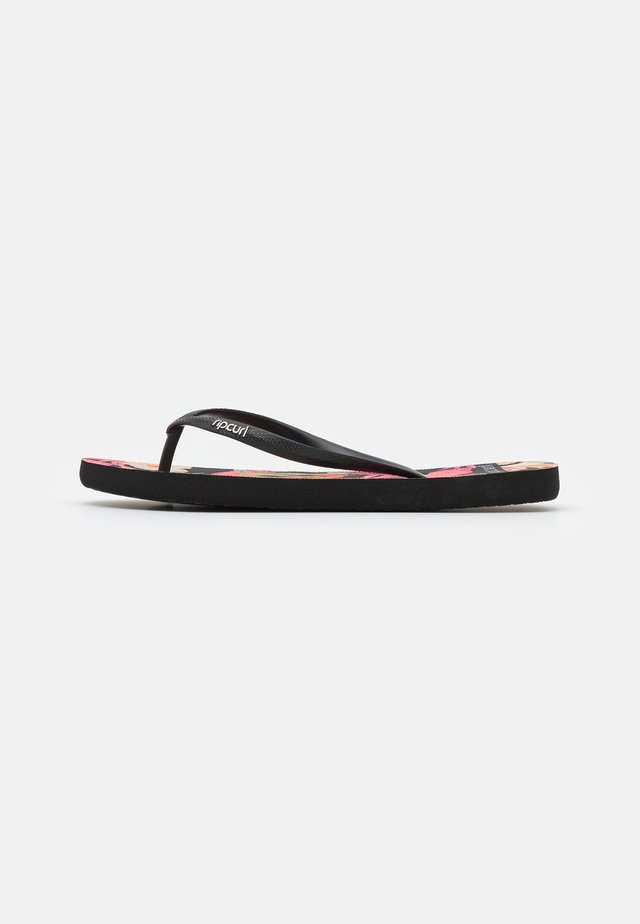 NORTHSHORE - Chanclas de dedo - black
