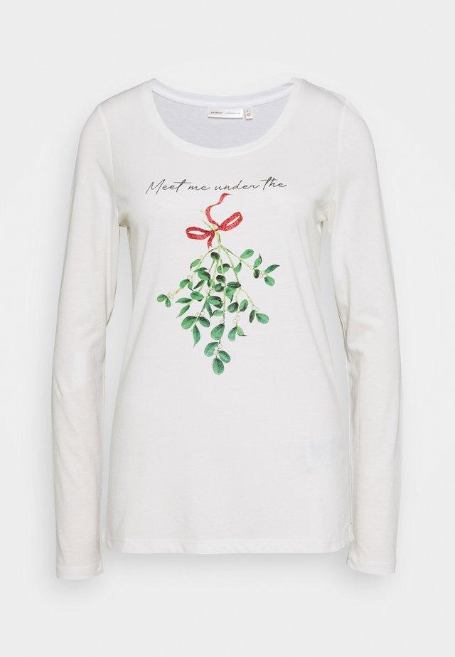 JANE - Camiseta de manga larga - pure white