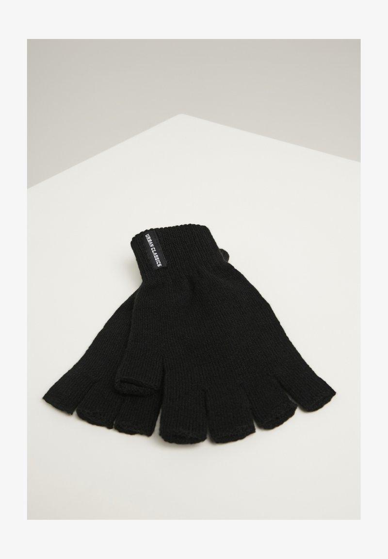 Urban Classics - Fingerless gloves - black