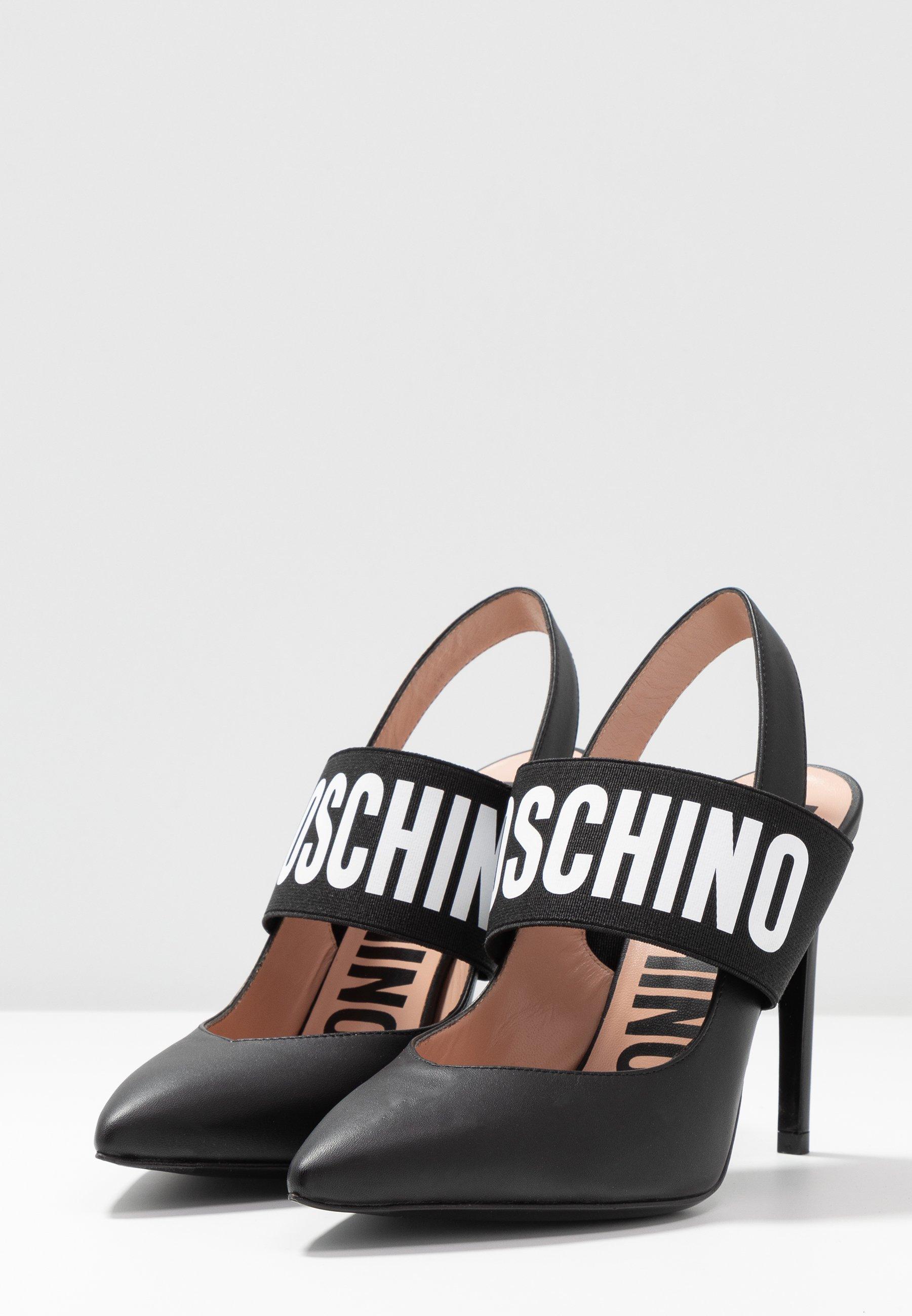 MOSCHINO Escarpins à talons hauts - nero - Chaussures à talons femme Classique