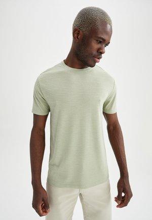 REGULAR FIT - T-shirt basic - turquoise