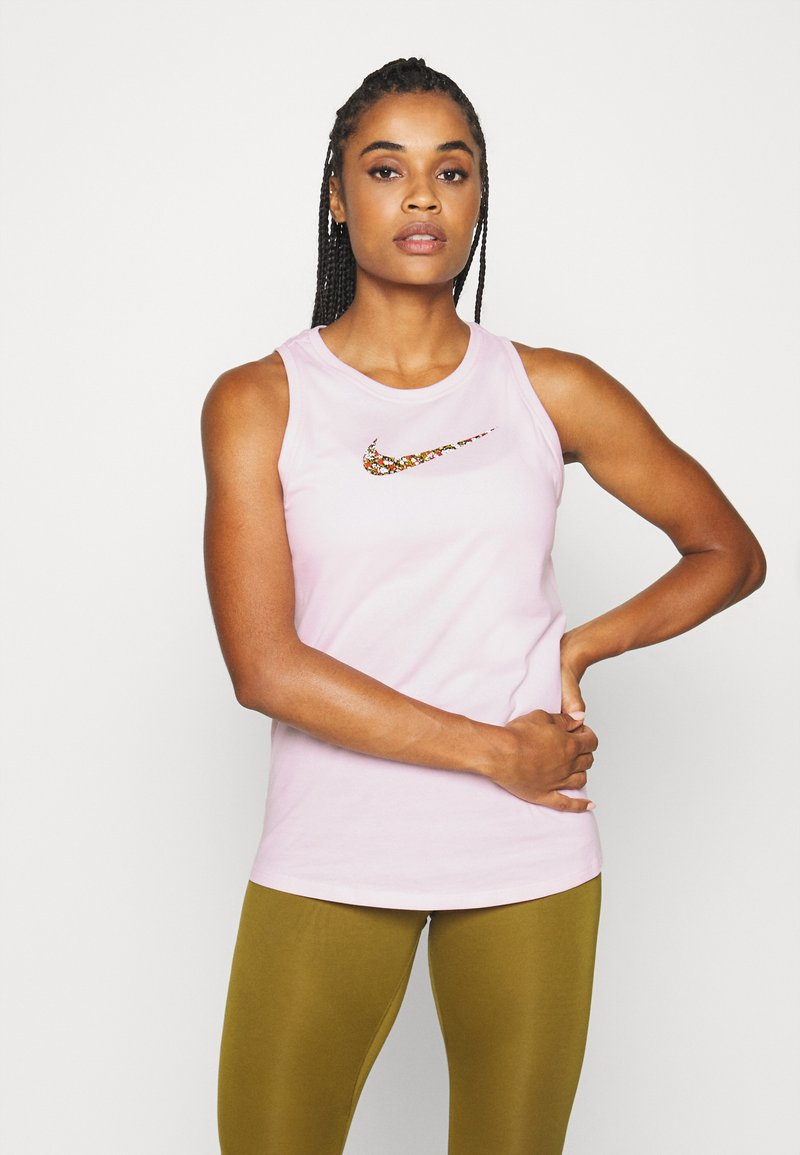 Nike Performance - DRY TANK FEMME - Camiseta de deporte - pink foam