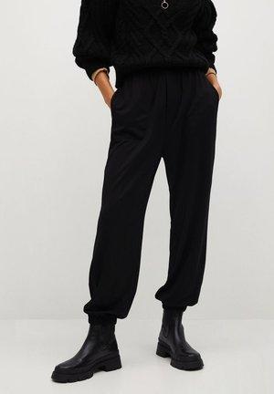 BOMBAY - Pantalon classique - czarny